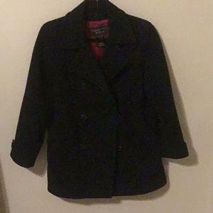 Black Fabio pea coat.
